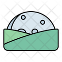 Moonrise Moonset Hill Icon