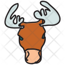 Moose Animal Icon