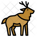 Moose Deer Zoo Icon