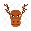 Moose Reindeer Icon