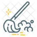Mop Broom Cleaning Icon