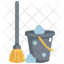 Mop Hygiene Clean Icon