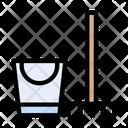 Brush Mop Bucket Icon