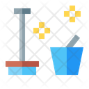 Mop Healtcare Cleaning Icon