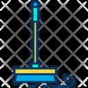 Mop Stick Mop Brush Icon