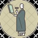 Mopan monk Icon