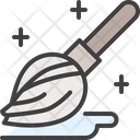 Mopping Broom Cleaning Icon