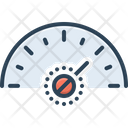 More Much Speedometer Icon
