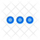 More Horizontal User Interface Icon