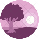 Morning Tree Forest Icon