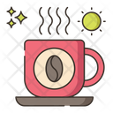 Morning Coffee Hot Coffee Drink Icon