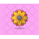 Morning Glory Spring Flower Agriculture Icon