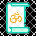 Yoga Training Color Icon
