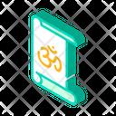 Yoga Training Isometric Icon