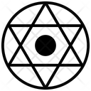 Morning Star Tribal Symbol Cultural Symbol Icon