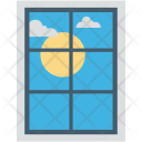 Window Morning View Icon