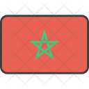 Morocco African Country Icon