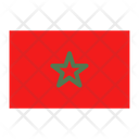 Morocco Flag Country Icon