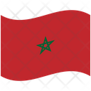 Flag Country Morocco Icon