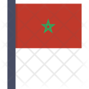 Morocco National Country Icon