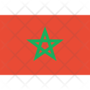 Morocco Flag World Icon