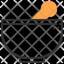Mortar Pot Tool Icon