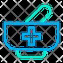 Mortar Pestle Pharmacy Icon