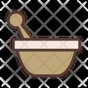 Mortar Pastle Spa Icon