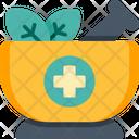 Mortar Alternative Medicine Ayurveda Icon