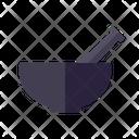 Mortar Pestle Cooking Icon