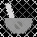 Mortar Pill Capsule Icon