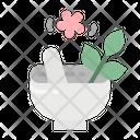 Mortar Spa Treatment Icon