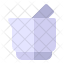 Mortar Pestle Grinding Icon