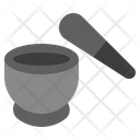 Mortar Grinding Cooking Icon