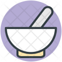 Mortar Pestle Medicine Icon