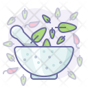 Mortar and herbs Icon