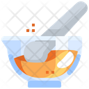 Mortar And Pestle Research Experiment Icon