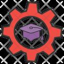Graduate Cap Degree Cap Commencement Icon