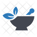 Mortar Pestle Herbal Icon