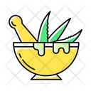 Mortar With Pestle Icon