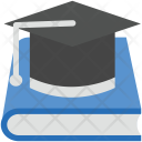 Mortarboard Book Booklet Icon