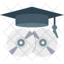 Mortarboard Dvd Cd Icon