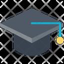 Mortarboard Graduate Cap Degree Cap Icon