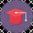 Mortarboard Graduation Academic Cap Icon