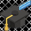 Mortarboard Academic Cap Graduation Cap Icon