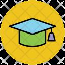 Mortarboard Graduation Cap Icon