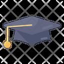 Mortarboard Scholarship Convocation Cap Icon