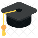 Mortarboard Graduation Cap Student Cap Icon