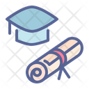 Hat Certificate Diploma Icon