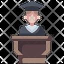 Mortarboard Graduate University Icon